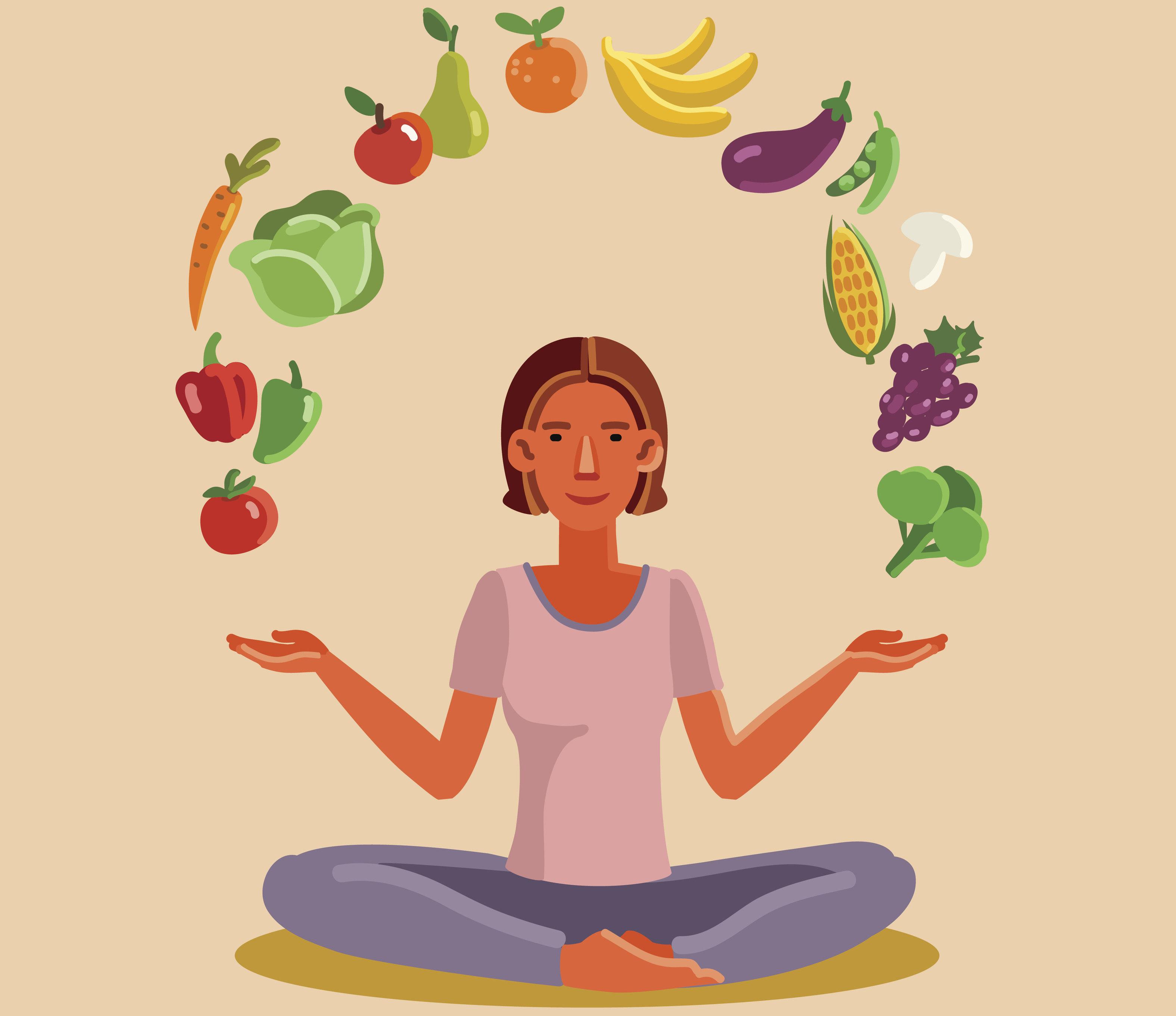 Come affrontare le abbuffate con la mindfulness